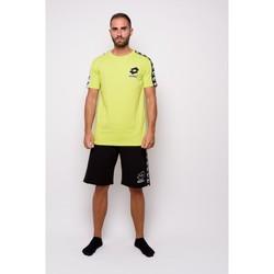 Abbigliamento Uomo T-shirt maniche corte Lotto T-shirt  Mezza Manica Jersey (ltu016-verde) Verde