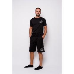 Abbigliamento Uomo T-shirt maniche corte Lotto T-shirt  Mezza Manica Jersey (ltu016-nero Nero