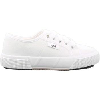 Scarpe Unisex bambino Sneakers basse Axa 158 - 32086A Bianco
