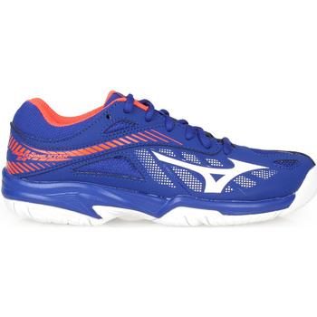 Scarpe Bambino Sport Indoor Mizuno Scarpe Volley Bambino  V1GD1803 00 Blu
