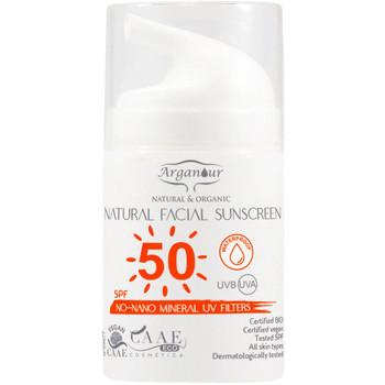 Bellezza Protezione solari Arganour Natural&organic Facial Sunscreen Spf50  50 ml