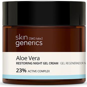 Bellezza Donna Idratanti e nutrienti Skin Generics Aloe Vera Gel Regenerador Noche 23%