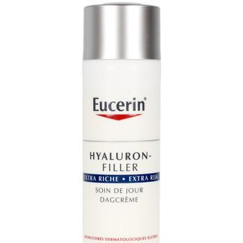 Bellezza Donna Idratanti e nutrienti Eucerin Hyaluron-filler Crema Día Extra Rica  50 ml