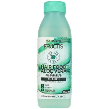 Bellezza Donna Shampoo Garnier Fructis Hair Food Aloe Vera Champú Hidratante  350 ml