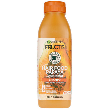 Bellezza Donna Shampoo Garnier Fructis Hair Food Papaya Champú Reparador  350 ml