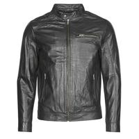 Abbigliamento Uomo Giacca in cuoio / simil cuoio Selected SLHC01 Nero
