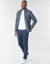 Abbigliamento Uomo Chino Selected SLHNEW PARIS Marine