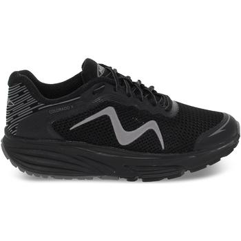 Scarpe Donna Sneakers basse Mbt Sneakers  COLORADO X W in nylon e ecopelle nero e grigio grigio,nero