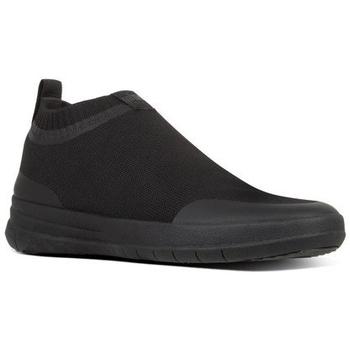 Scarpe Uomo Sneakers alte FitFlop UBERKNIT - SNEAKERS - ALL BLACK es BLACK