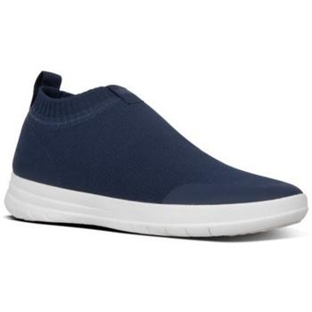 Scarpe Uomo Sneakers alte FitFlop UBERKNIT - SNEAKERS - MIDNIGHT NAVY es BLACK