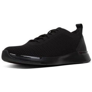 Scarpe Uomo Sneakers basse FitFlop FLEEXKNIT - SNEAKERS - ALL BLACK CO BLACK