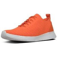 Scarpe Uomo Sneakers basse FitFlop FLEEXKNIT - SNEAKERS - NEON ORANGE CO BLACK