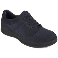 Scarpe Uomo Sneakers basse FitFlop TOURNO TM LACE-UP SNEAKERS - MIDNIGHT NAVY BLACK