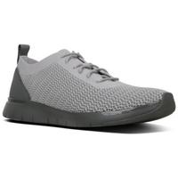 Scarpe Uomo Sneakers basse FitFlop FLEEXKNIT - SNEAKERS - LIGHT GREY CO BLACK