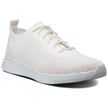 Scarpe Uomo Sneakers basse FitFlop FLEEXKNIT - SNEAKERS - WHITE CO AW01 BLACK