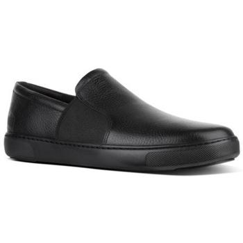 Scarpe Uomo Mocassini FitFlop COLLINS SLIP-ON - BLACK CO BLACK