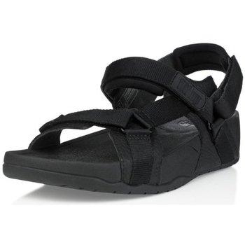 Scarpe Uomo Sandali FitFlop HYKER TM MAN - BLACK (LEATHER) BLACK