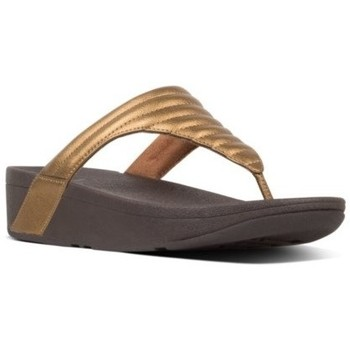 Scarpe Donna Infradito FitFlop LOTTIE PADDED - BRONZE es BLACK