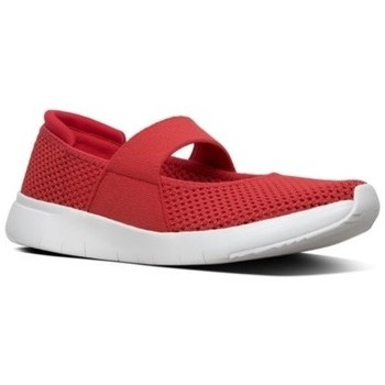 Scarpe Donna Ballerine FitFlop AIRMESH - MARY JANES - PASSION RED PLATINO