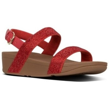 Scarpe Donna Sandali FitFlop LOTTIE SHIMMERCRYSTAL BACK-STRAP - PASSION RED BLACK