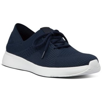 Scarpe Donna Sneakers basse FitFlop MARBLEKNIT SNEAKERS - MIDNIGHT NAVY MIX CO AW01 BLACK