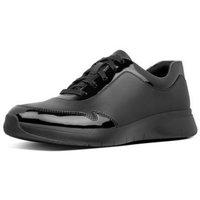 Scarpe Donna Sneakers basse FitFlop IDA FLEX SNEAKERS - ALL BLACK BLACK