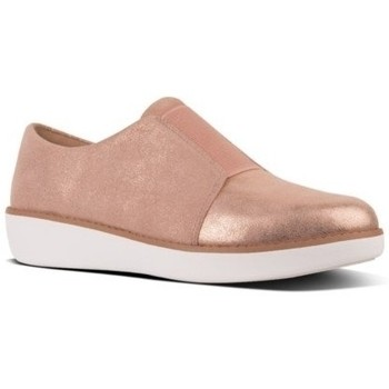 Scarpe Donna Sneakers basse FitFlop LACELESS DERBY GLIMMERSUEDE - APPLE BLOSSOM BLACK