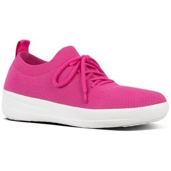 Scarpe Donna Sneakers basse FitFlop F-SPORTY UBERKNIT - PSYCHEDELIC PINK MIX BLACK