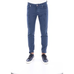 Abbigliamento Uomo Pantaloni 5 tasche Bro-Ship TALLIN-8144 Cinque tasche Uomo Blu Blu