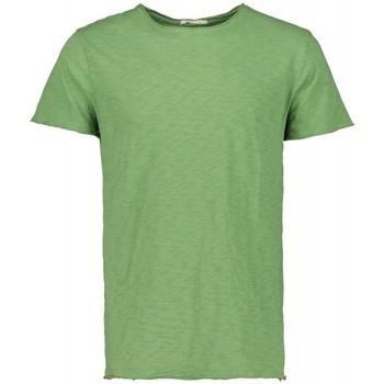 Abbigliamento Uomo T-shirt maniche corte Scout T-shirt M/m  (10184-verde-fluo) Multicolore