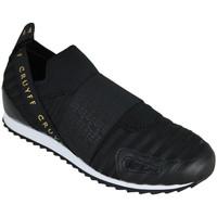 Scarpe Uomo Slip on Cruyff elastico black/gold Nero