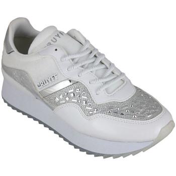 Scarpe Donna Sneakers basse Cruyff wave embelleshed white Bianco