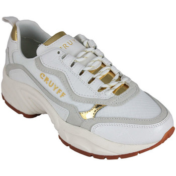 Scarpe Donna Sneakers basse Cruyff ghillie white/gold Bianco