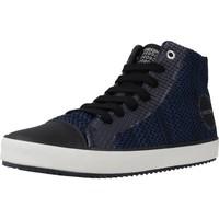 Scarpe Bambino Sneakers alte Geox J ALONISSO B. F Nero