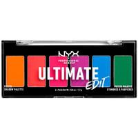 Bellezza Donna Cofanetto ombretti Nyx Ultimate Edit Petite Shadow Palette brights 6x1,2 Gr 6 x 1,2 g