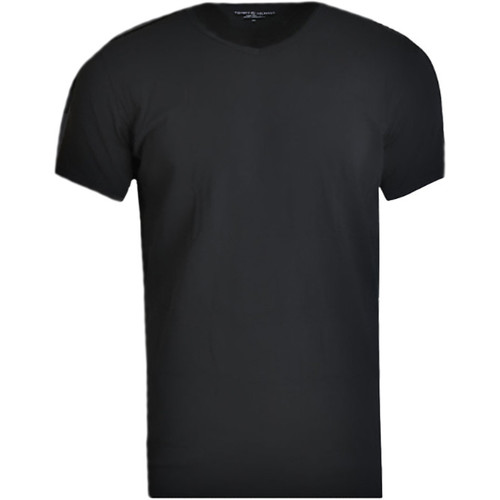 Abbigliamento Uomo T-shirt maniche corte Tommy Hilfiger V-Neck 3 Pack Tee 2S87903767-990