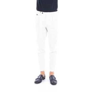 Abbigliamento Uomo Chino Briglia BG02-320528 Classici Uomo Bianco Bianco