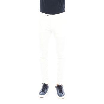 Abbigliamento Uomo Chino Briglia BG04-32009 Classici Uomo Bianco Bianco