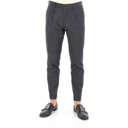 Abbigliamento Uomo Chino Briglia BG21P-32079 Eleganti Uomo Grigio scuro Grigio scuro