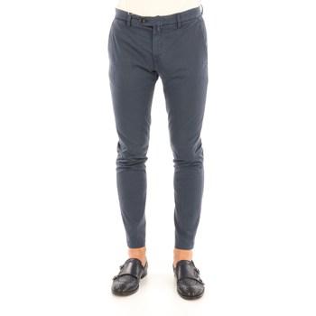 Abbigliamento Uomo Chino Briglia BG04-32009 Blu