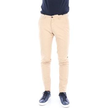 Abbigliamento Uomo Chino Briglia BG05-320529 Beige