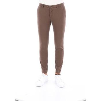 Abbigliamento Uomo Pantaloni 5 tasche Briglia BG04-39577 Classici Uomo Marrone Marrone