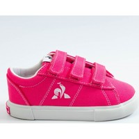 Scarpe Bambina Sneakers basse Le Coq Sportif Verdon plus inf Rosa