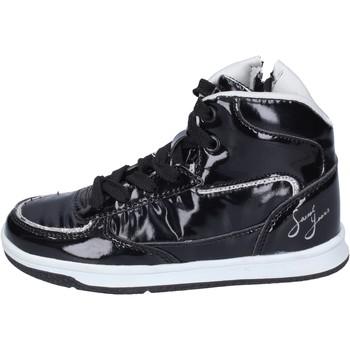 Scarpe Bambina Sneakers alte Sweet Years BM970 Nero
