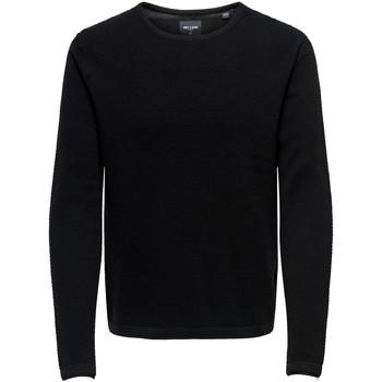 Abbigliamento Uomo Maglioni Only & Sons  22016980 Nero