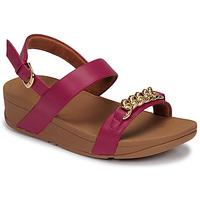 Scarpe Donna Sandali FitFlop LOTTIE CHAIN BACK-STRAP SANDALS Fucsia