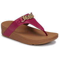 Scarpe Donna Sandali FitFlop LOTTIE CHAIN TOE-THONGS Fucsia
