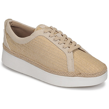 Scarpe Donna Sneakers basse FitFlop RALLY BASKET WEAVE SNEAKERS Beige