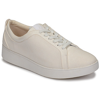 Scarpe Donna Sneakers basse FitFlop RALLY DENIM Bianco