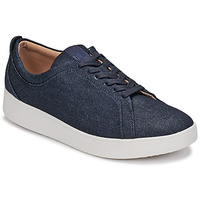 Scarpe Donna Sneakers basse FitFlop RALLY DENIM Blu